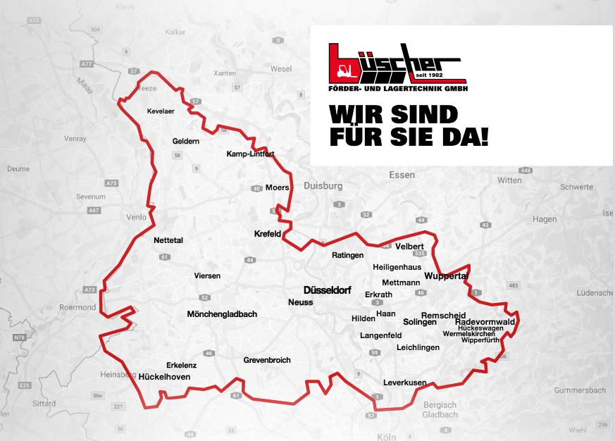 Gebietskarte Büscher