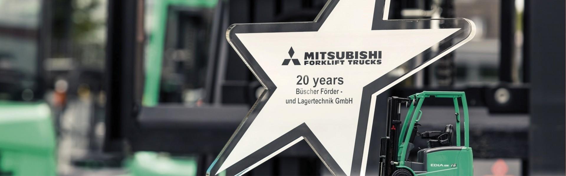 Büscher 20 Jahre Mitsubishi-Händler
