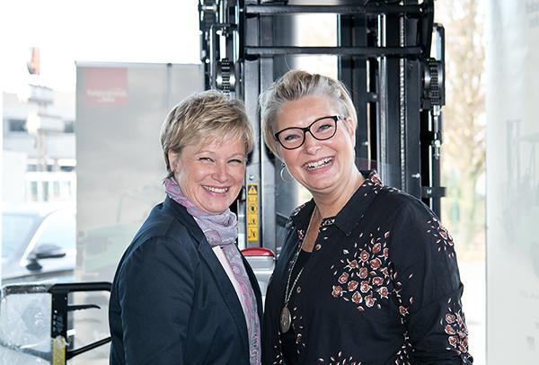 Martina Büscher und Stefanie Fuhl
